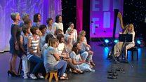 Côr Llefaru dros 16 o aelodau (131) / Recitation Choir over 16 members (131)