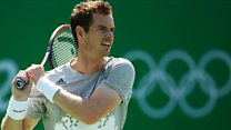 Who's in action in Rio today?