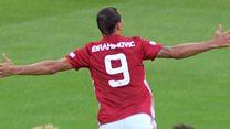 Ibrahimovic heads Man Utd winner