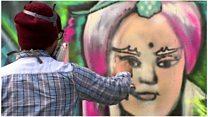How graffiti artists won over Taiwan