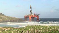 Oil rig ahoy