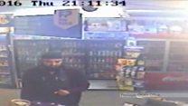 CCTV of Glasgow shopkeeper's killer