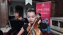 Türksoy Orkestrası'nın turnesi