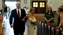 В США невесту подвел к алтарю мужчина с сердцем ее отца