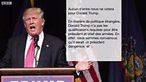 États-Unis : cinquante républicains contre Donald Trump