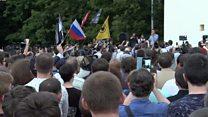 Митинг в защиту интернета в Москве