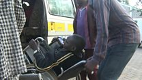 Kenyan bus driver who helps disabled people get to work