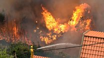 Three dead in Portugal wildfires