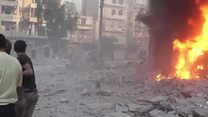 'No truce in Aleppo, only shelling'