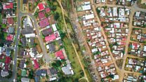 Capturing South Africa's inequality by drone