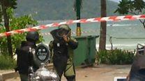 Таиланд после взрывов: полиция и скорая на курортах