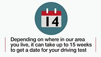 How long is too long to wait for a driving test?