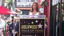 Actress dedicates Hollywood star to Derry