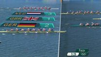 Gold and silver for Team GB rowers