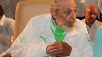 Castro's rare birthday appearance