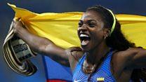 En 1 minuto: oro en triple salto para la colombiana Ibargüen y otros grandes logros de las Olimpiadas de Río 2016
