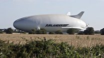 Airlander 10: Maiden flight delayed at last minute