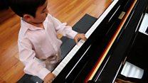 5 yaşındaki piyano dehası