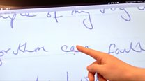 Could a computer copy your handwriting?