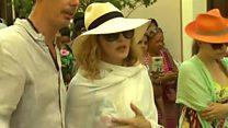 Мадонна отпраздновала день рождения в Гаване