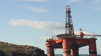 Footage shows grounded Transocean Winner