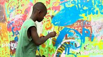 L'art dans les rues d'Accra