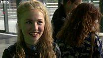 A-level joy for flood-hit students