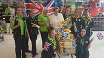 Golden trolley for 'Olympic nan'