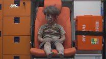 O resgate do menino que se tornou símbolo do horror da guerra síria