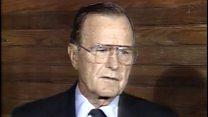 Джордж Буш о перевороте в СССР