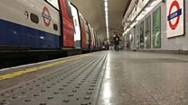 A homage to running for the last Tube