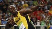 Usain Bolt used to be 'shy' teenager