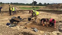 New discoveries at dig in Lufton