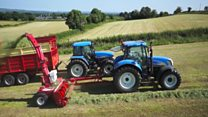 Ballymena tractor films are worldwide phenomenon