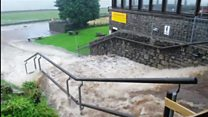 Flooding at White Scar Caves
