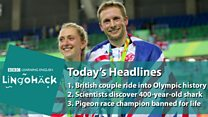 'Casal de ouro' britânico junta 10 medalhas e bate recorde