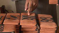 Ouganda : des tissus d'écorces d'arbres