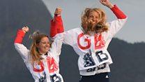 Watch poet Pam Ayres' tribute to Team GB