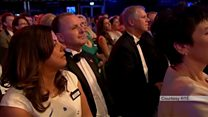 Protester storms stage at Rose of Tralee