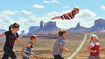 The Utah boy who can 'fly'