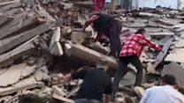 Las primeras imágenes de Amatrice, el pueblo que casi desaparece por el terremoto de Italia