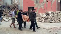 Race to rescue earthquake survivors