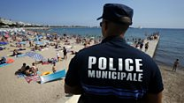 Witness to 'burkini' beach confrontation