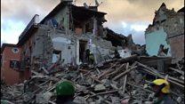 Italie: le choc après le séisme