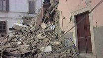 Землетрясение в Италии: разрушения, погибшие, пропавшие