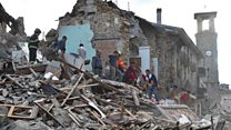 Italy earthquake town 'like an apocalypse'