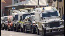Larne searches after Royal Marine arrest