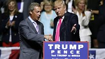 How Americans responded to Nigel Farage
