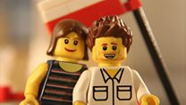 'Will you marry me?' asks Lego man
