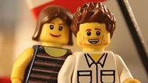 'Will you marry me?' says lego man